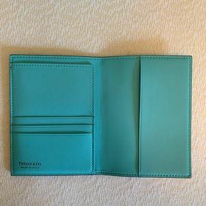 NWT Tiffany's Passport Holder